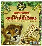 EnviroKidz Organic Cheetah Crispy Rice, Berry Blast, 1.0 oz. Bars, 6-Count (Pack of 6)