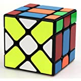Fisher Cube 3X3 YJ Yileng Speed Magic Cube Puzzle Black