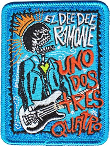 Application Dee Dee Ramone Uno Dos Patch
