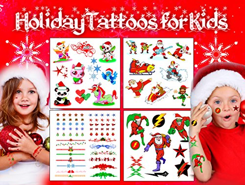 Christmas / HolidayTattoos for Kids