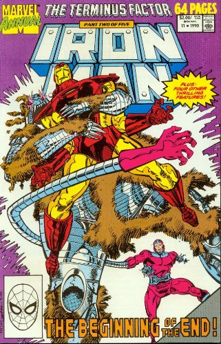 Iron Man Annual #11 1990 the Beginning of the End!