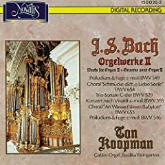 Pr�ludium und Fuge in C Minor, BWV 546: Pr�ludium und Fuge in C Minor, BWV 546: I. Pr�ludium