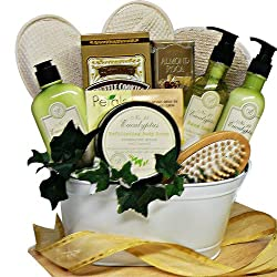 Art of Appreciation Gift Baskets Peace and Relaxation Eucalyptus Spa Bath and Body Gift Set by Art of Appreciation Gift Baskets