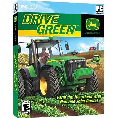 John Deere Drive Green-Symulator farmy