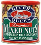 River Queen Premium Mixed Nuts, 13 Ounce