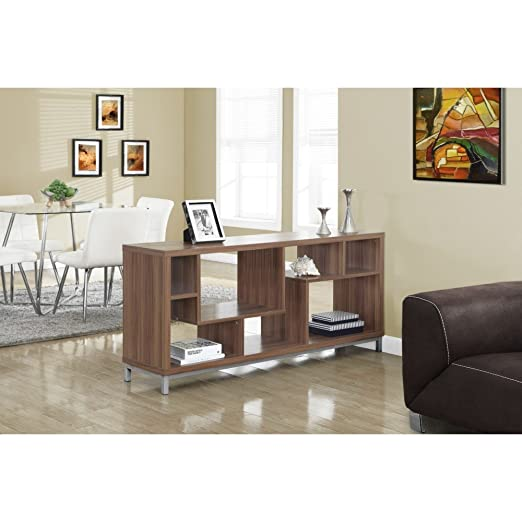 "WALNUT HOLLOW-CORE 60""L TV CONSOLE (SIZE: 60L X 16W X 28H)"