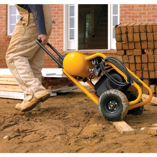 DEWALT D55146  4-1/2-Gallon 200-PSI  Hand Carry Compressor with Wheels