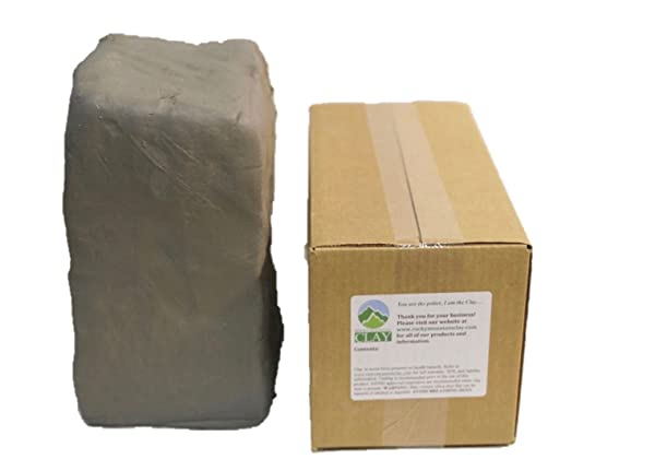 Pottery Clay - 5 lb of Low Fire Cone 06 White Clay - Rocky Mountain Clay CT3 (Color: White, Tamaño: 5 lb)