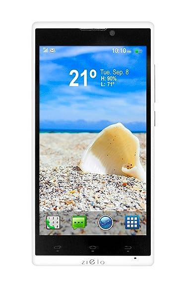 Woxter Zielo Z800 HD Smartphone débloqué (5 pouces - 8 Go) Noir/Blanc (import Espagne)