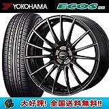【4本セット】 16インチ ヨコハマ エコス ES31 215/65R16 & ウェッズ ウェッズスポーツ SA-15R タイヤ&ホイール