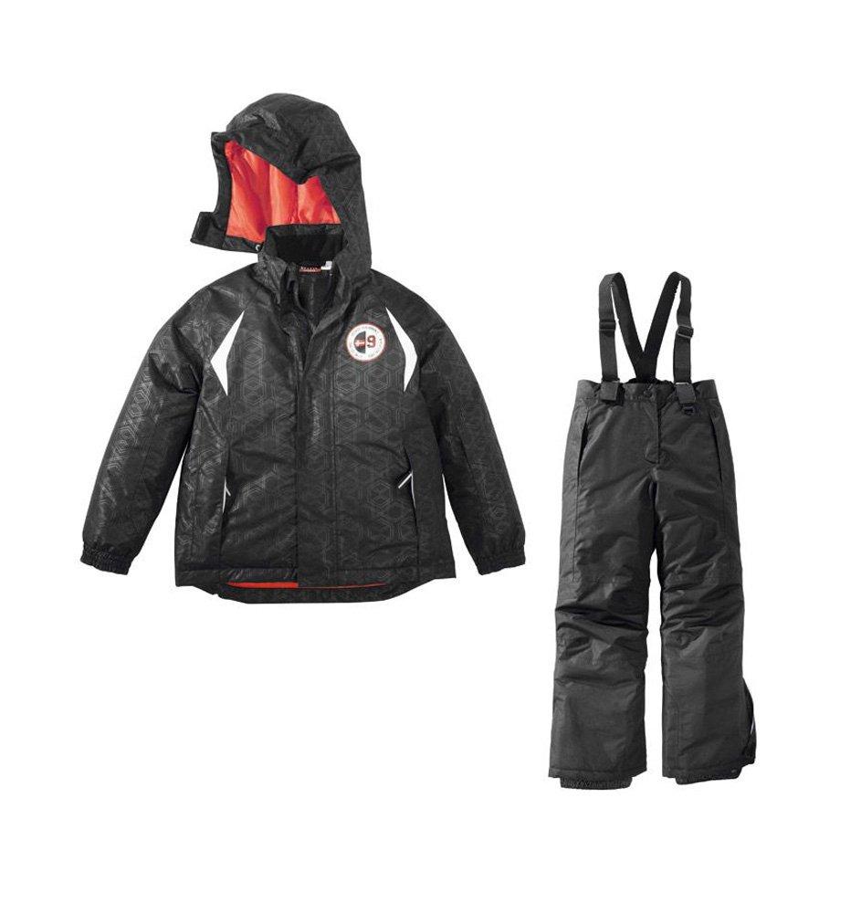 Jungen Skianzug Größe: 134/140 Schwarz Skijacke & Skihosehose Set Schneeanzug online bestellen