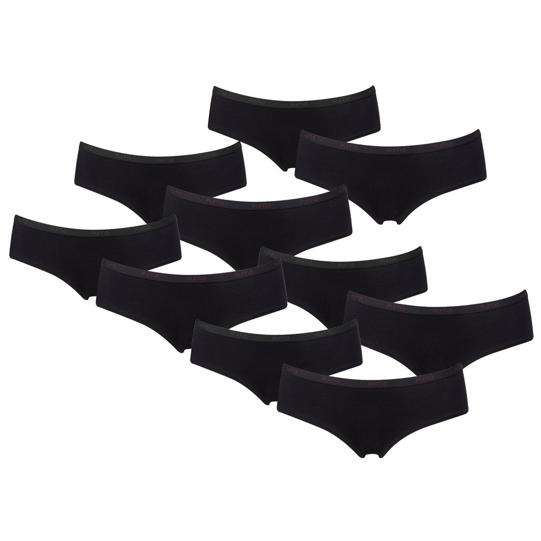 PUMA Damen Basic Hipster Unterhose 10er Pack kaufen