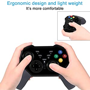 Qingta Wireless Game Controller Rechargeable Gamepad Support PC
