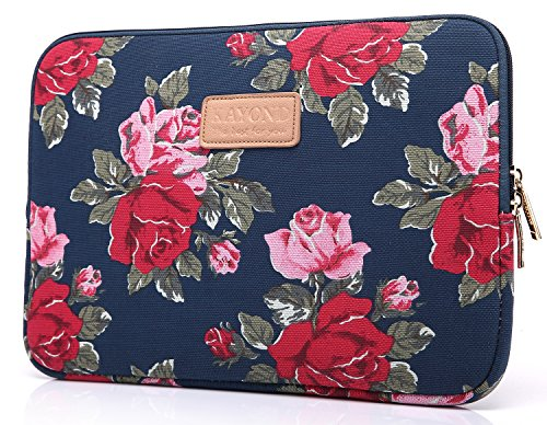 kayond-peony-patterns-canvas-fabric-10-15-inch-for-laptop-notebook-computer-macbook-air-macbook-pro-