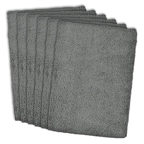 Grey Dish Rags: DII Cleaning, Washing, Drying, Ultra Absorbent, Microfiber