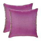 16'x16' Glory Set Of 2 Cushion Covers - @home Nilkamal