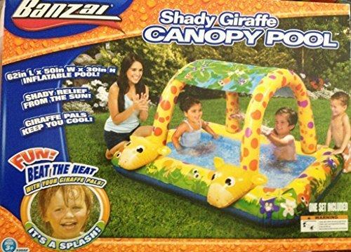Banzai Giraffe Canopy Pool – Shady Fun Splash Time by Banzai online kaufen