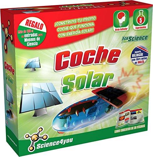 Science4you - Energía solar en coches - juguete científico y educativo