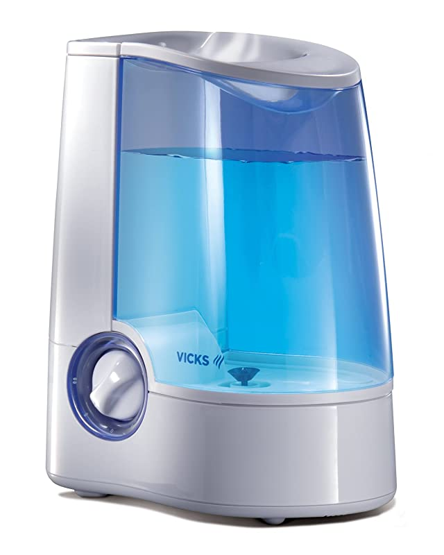Vicks Warm Mist Humidifier with Auto Shut-Off via Amazon
