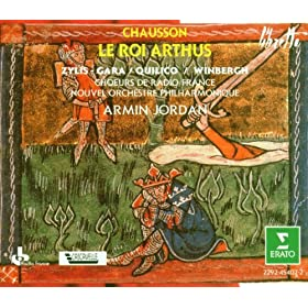 """Chausson : Le roi Arthus : Act 2 """"Lyonnel a-t-il pu la voir?"""" [Lancelot]"""