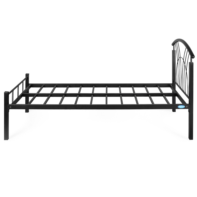 Nilkamal Bedroom Furniture Home By Nilkamal Single Size Bed Black Amazonin Home Kitchen