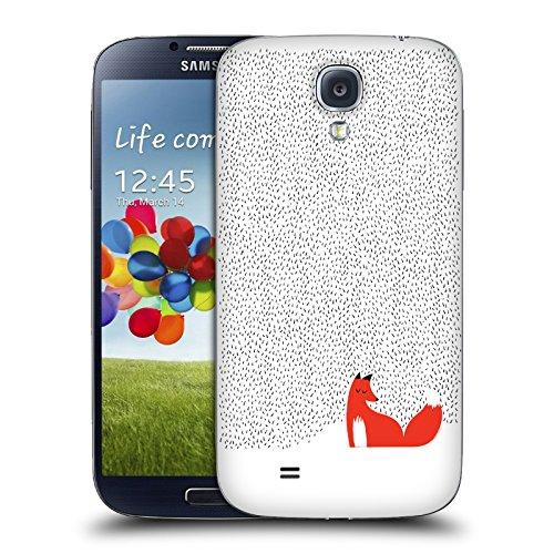Ufficiale Robert Farkas Erba Nera Volpe Cover Sostitutiva Batteria per Samsung Galaxy S4 I9500