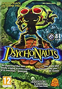 Psychonauts + soundtrack (PC DVD)