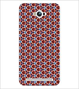 PrintDhaba Pattern D-5169 Back Case Cover for ASUS ZENFONE MAX ZC550KL (2016) (Multi-Coloured)