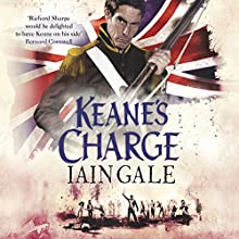 Keane's Charge (       UNABRIDGED) by Iain Gale Narrated by David Timson