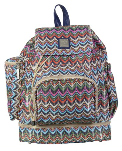 Kalencom Diaper Backpack, Ripples Earth - 1
