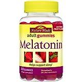 Nature Made Melatonin 2.5 mg. Adult Gummies 80 Ct (Color: 80 Count, Tamaño: 80 Count)