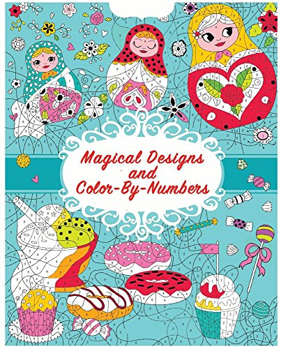Magical Designs and Color-by-Numbers (Cool & Calm Coloring for Kids) (Coloring By Numbers For Kids compare prices)