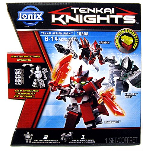 Ionix Tenkai Knights Action Pack 10508 (Bravenwolf/Eurus/Grayden) - 1