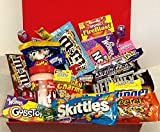 Giant American Sweets Gift Basket by Dolci Di Lechlade - NEW M&M`s, Snickers, Nerds flavours !! Easter Birthday Reese`s Hershey`s Wonka