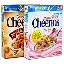 Cheerios チェリオス ヨーグルトバースト/シナモンバースト オーツ麦 シリアル 選べる 2箱セット