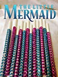 Disney's The Little Mermaid Inspired Specialty Bling Cake Pop Sticks - Purple & Teal Glam for Lollipops, Cake Pops and All Things Party - Bling Sticks 6 15.2 Cm - 12 Ct Set