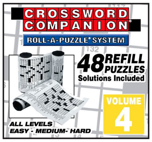 Cheap Herbko Volume 4  Crossword Companion Refills – 48 Puzzles (B000HAO5GS)