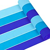 Coceca 12 Rolls 82ft Baby Blue Crepe Paper Streamers, 3 Colors, for Birthday Party, Class Party, Family Gathering, Thanksgiving, Christmas Decoration