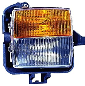 Depo 332-2009L-AC Cadillac CTS Driver Side Replacement Signal/Fog Light Assembly