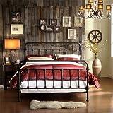 Home Creek Antique-Style Katherine Metal Frame Bed