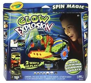 Crayola Glow Explosion Spin Magic