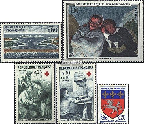 France 1566,1567,1568-1569,1570 (complète.Edition.) 1966 timbres spéciaux (Timbres pour les collectionneurs)