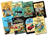Herge Tintin Collection, 8 Books, RRP £63.92 (The Secret Unicorn; Red Rackham's Treasure; The Seven Crystal Balls; Prisoners of the Sun; Land of Black Gold; Destination Moon; Explorers on the Moon; The Calculus Affair) (Tintin)