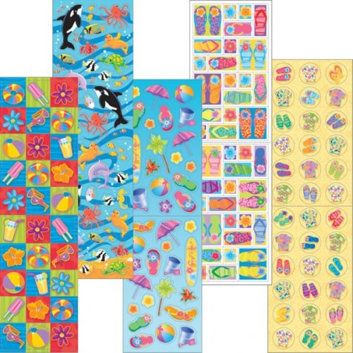Stickers Value Pack Beach Fun 350 Count