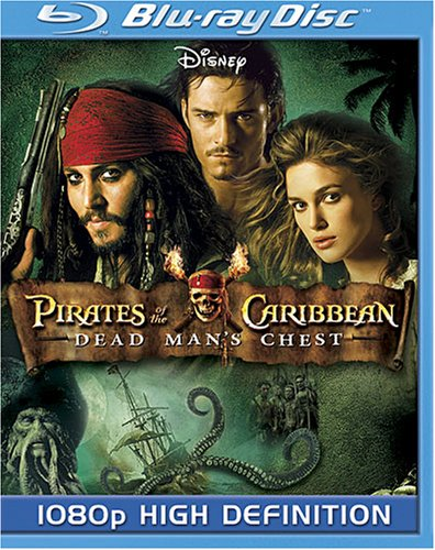 Cover art for  Pirates of the Caribbean: Dead Man's Chest  [Blu-ray]