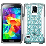 Otterbox Commuter Victorian Pattern Vintage on Teal Case for Samsung Galaxy S5