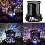 KINGSO Projecteur Ciel étoile LED Star Beauty Nuit Lumière Ciel Coloré Lampe D'éclairage Du Projecteur...