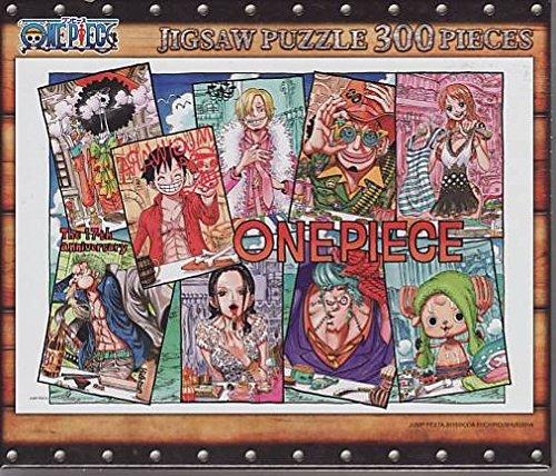 ONE PIECE 300ピース ジグソーパズル The 17th anniversary JF2015-3-01 尾田栄一郎 原画