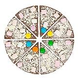 Martins Chocolatier Milk Chocolate 7-Inch Pizza with...