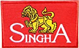 SINGHA BEER Breverage Logo Jacket T-shirt Patch Sew Iron on Embroidered Sign Badge Costume Clothing